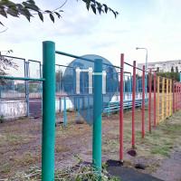 Omsk  - Outdoor Exercise Station - Гимназия № 140