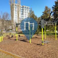 София - Воркаут площадка - Yuzhen Park (South Park)