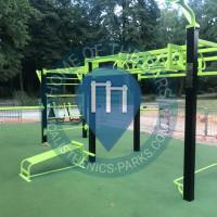 Parque Calistenia - Paris - Workout republique