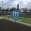 уличных спорт площадка - Схидам - Koniginnebrug Calisthenics