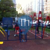 Moscou - Parc street Workout - Vesennyaya