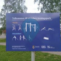 Barre de traction en plein air - Oslo - Utendørs Treningspark - Kjelsås