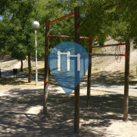 Madrid - Outdoor Pull Up Bars - Barrio Del Pilar Park