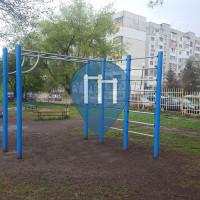 Parque Street Workout - Sofía - Calisthenics Gym Lyulin 9 40 School Louis Pasteur