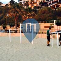 Netanya - 徒手健身公园 - Herzl Beach