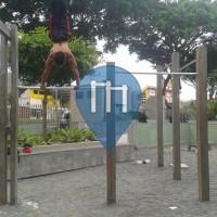 Guayaquil - Street Workout Park - Estadio Monumental Banco Pichincha