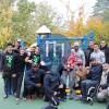 Орлеан - Воркаут площадка - Parc des Longues Allees