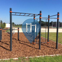 Kalmthout - Воркаут площадка - Sportpark Heikant