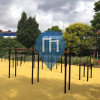 Paris 18e Arrondissement - Parque Street Workout - Centre Sportif Poissioniers