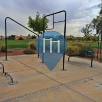 Las Vegas - площадки для воркаут - Pioneer Park