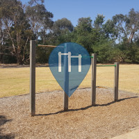Melbourne - Exercise Park - Dunns Rd Reserve fitness trail