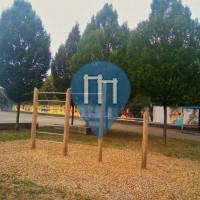 Esslingen am Neckar - Barra per trazioni all'aperto - Parkhaus Flandernstrasse