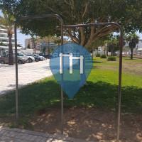 Ibiza - Pull up bars - Passeig de Joan Carles 1