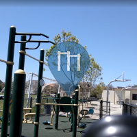 Santa Clara - Parc Street Workout - Outdoor Fitness - Don Callejon Elementary School
