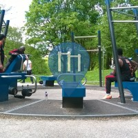 Amsterdam -Outdoor Gym Denfit - Rembrandtpark