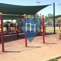 Tel Aviv - Parco Street Workout - HaBanim Garden