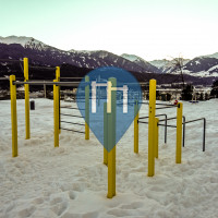 Innsbruck - Parco Calisthenics - Playparc - Saurweinwiese