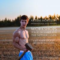 Workshop – Artem Morozow – Netherlands