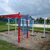 Karlovy Vary - Street Workout Equipment - Areal Rolava