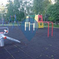 Riga - Outdoor Exercise Gym - Daugavgrīvas Vidusskolas Stadions