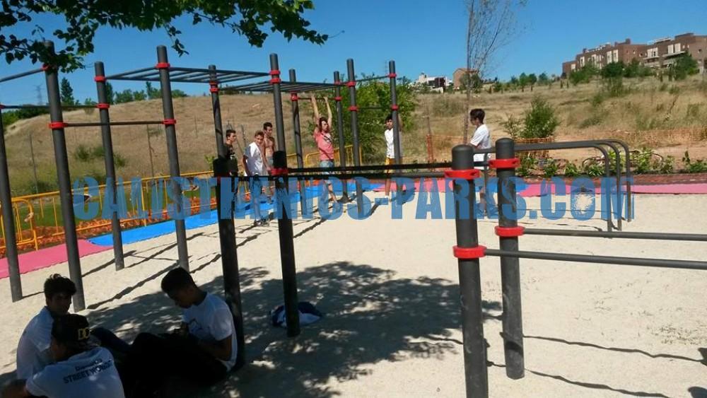 Daganzo de arriba street workout park kenguru pro - Daganzo de arriba ...