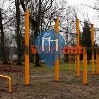 Вышкув - Воркаут площадка Вышкув - Park Imienia Wazy