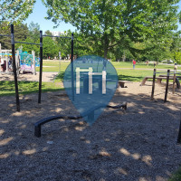 Sherbrooke - Outdoor Exercise Park - Parc Lucien-Blanchard