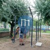 徒手健身公园 - 切尔维亚 - Calisthenics Park Lungomare Grazia Deledda