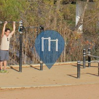 Austin Texas  - Town Lake Fitness Course