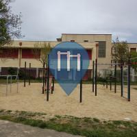 Moralzarzal - Parque Calistenia - IES Carmen Martin Gaite