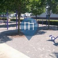 Birmingham, Alabama - Exercise Park - Railroad Park