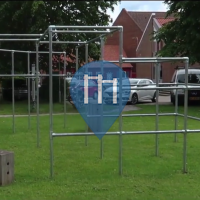 Viborg - Parkour Park with Pull Up Bars - Ungdomsskole