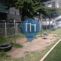 Workout Station - Seodaemun-gu - Yonsei University Track - Pull up bars