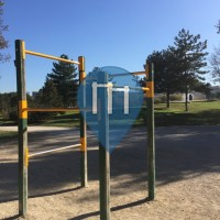 Madrid - Outdoor exercise Park - Parque de Enrique Tierno Galvan