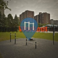 Montreal – Fitness-Trail – Parc Caron