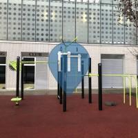 Calisthenics-Anlage - Paris - Quai du Lot