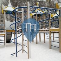 Moskau - Street Workout Gym - Спортивная Площадка