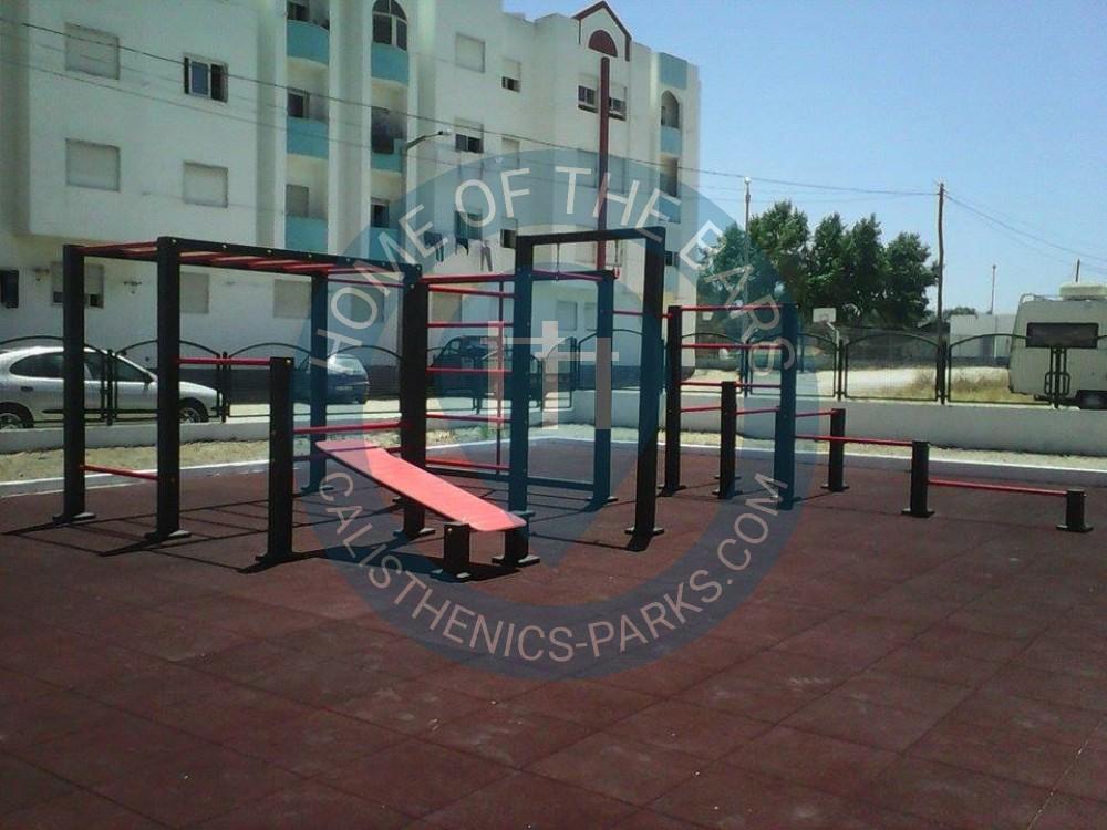 Pinhal Novo Street Workout Station Portugal Spot