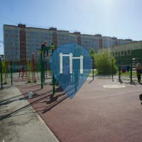 Ekaterinburg -  Outdoor Street Workout Park - Gimnaziya № 174
