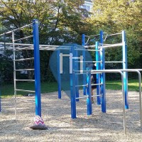 Múnich - Parque de Calistenia - Korbinianplatz