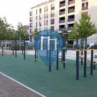 Street Workout Park - Frankfurt am Main - Calisthenics Park - Gallus