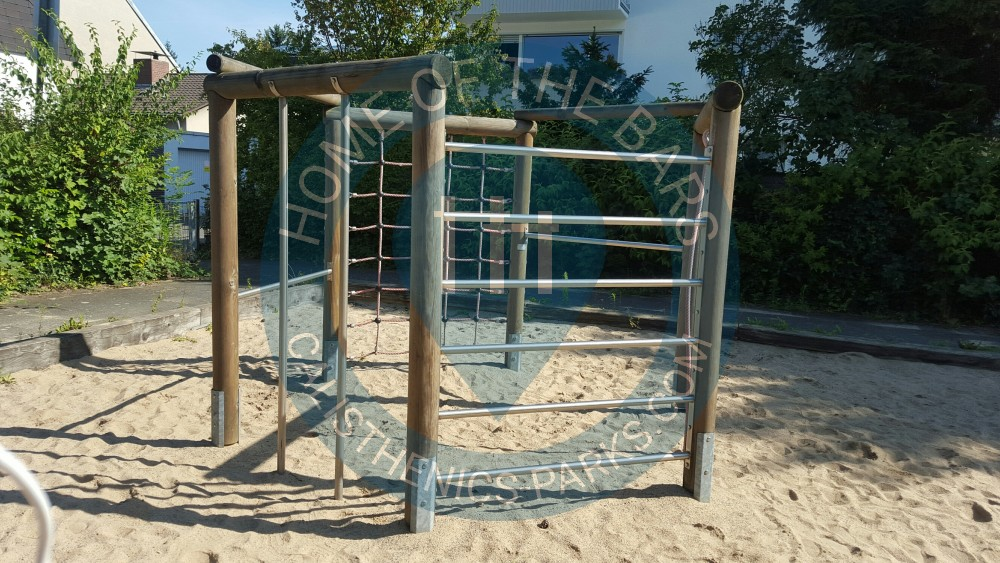 Klettergerüst Calisthenics : Spielplatz workout equipment klettergerüst youtube