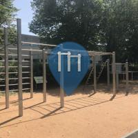 Parque Street Workout - Múnich - Outdoor Fitness München Neuaubing Sportplatz