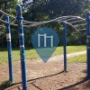 Berlin - Outdoor Fitness Equipment - Volkspark Friedrichshain