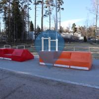 Parcours Sportif - Helsinki - Exercise Park Myllypuro