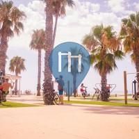 Málaga - Parc Street Workout - Parque de ejercicios del Paseo Marítimo