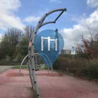 Klimmzugstange - Rotterdam - Bodyweight Fitness Spinozapark