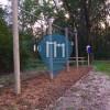 Barra per trazioni all'aperto - Locarno - Fitness Park Parco della Pace