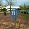 Bebra - уличных спорт площадка - Brüder Grimm Schule