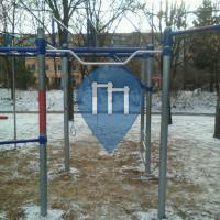 Prag - Fitnessgeräte für Eigengewichtstraining - Centrální park